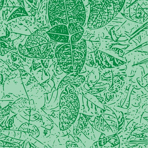 Green Vector Hawaii Plant Series