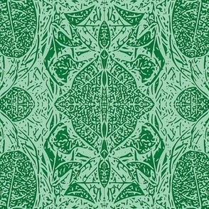 Croton Green Vector