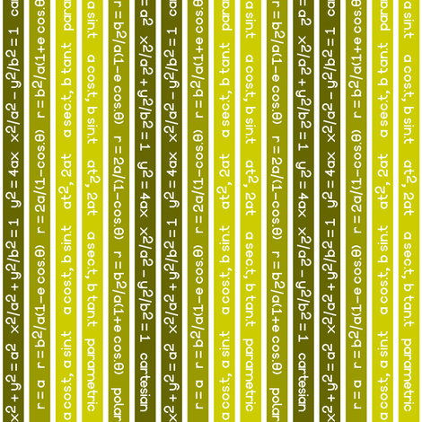 04655635 : equation stripes : yellow olive fabric by sef on Spoonflower - custom fabric
