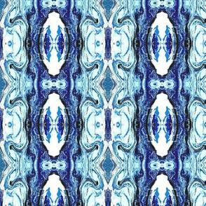 MARBLED LANTERN STRIPE BLUE
