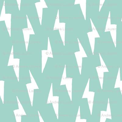 Bolt - Pale Turquoise by Andrea Lauren