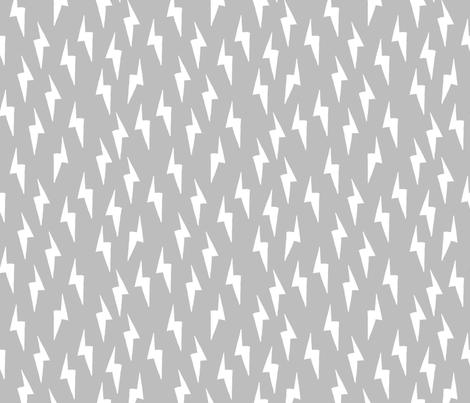 Bolt - Slate by Andrea Lauren  fabric by andrea_lauren on Spoonflower - custom fabric