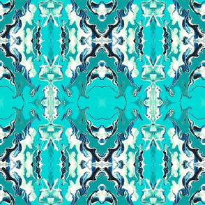 GOTHIC MEDALLIONS - TURQUOISE
