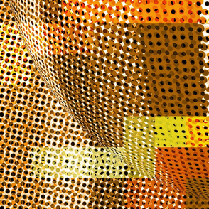 pixel ball_brown