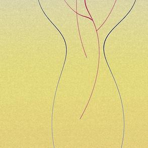 vase of flowers_yellow