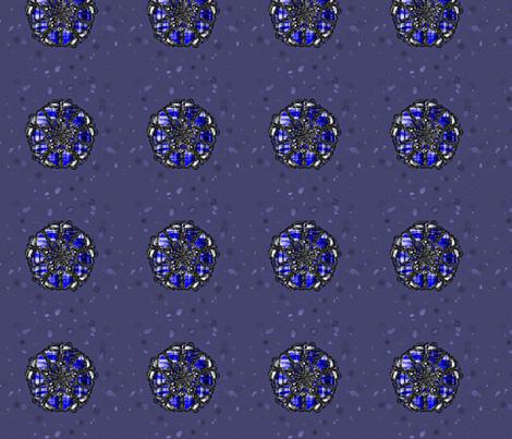 shiny_blues-ed fabric by glorybart on Spoonflower - custom fabric