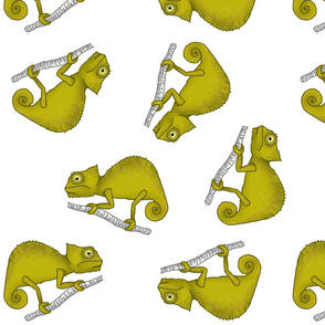 Ditsy Chameleon (large)