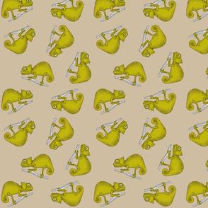 Ditsy Chameleon Taupe