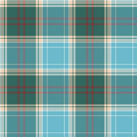 Michigan tartan - great lakes, greyed fabric by weavingmajor on Spoonflower - custom fabric