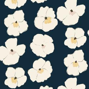 Warhol Garden - indigo -