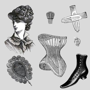 Danita's Victorian Woman ~ Head to Toe