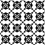 Black and White Celtic Geometric