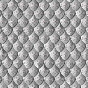 Scales Fleur de les Armor Silver