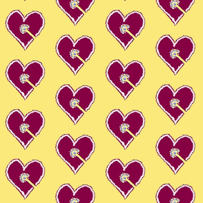 Flowerheart as gingerbread
