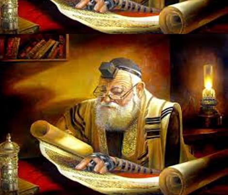 Torah Joy fabric by winterblossom on Spoonflower - custom fabric