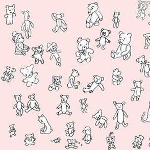 Pink Teddies