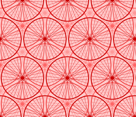 04658951 : panting the town red fabric by sef on Spoonflower - custom fabric