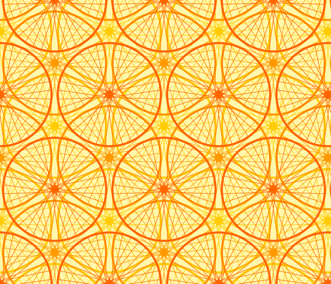 04658952 : a new golden age of cycling fabric by sef on Spoonflower - custom fabric