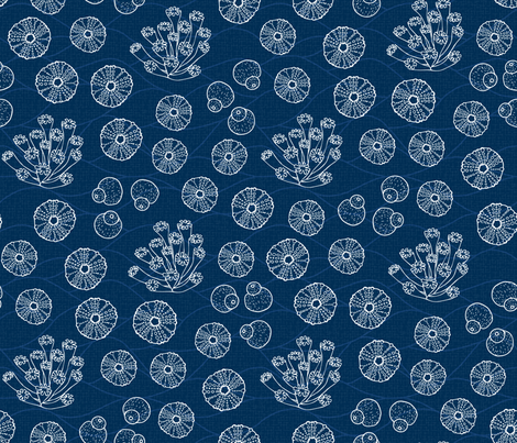 Sea Jewels fabric by mia_valdez on Spoonflower - custom fabric