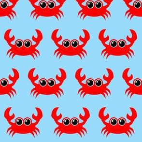 Crabby Crab Light Blue