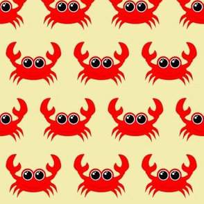Crabby Crab Light Yellow