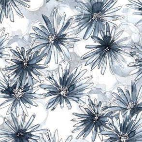 Modern Abstract Floral