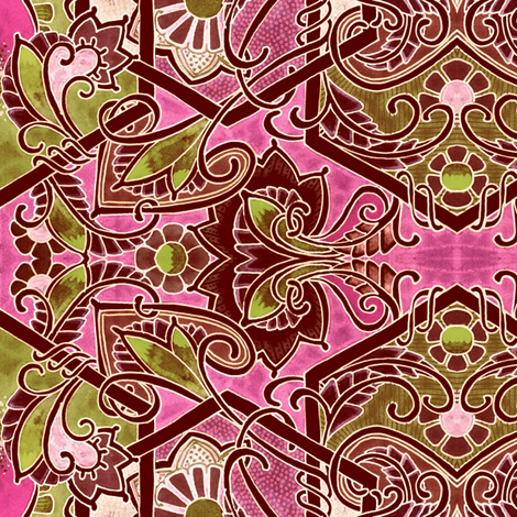 Bolder, Browner, Pinker fabric by edsel2084 on Spoonflower - custom fabric