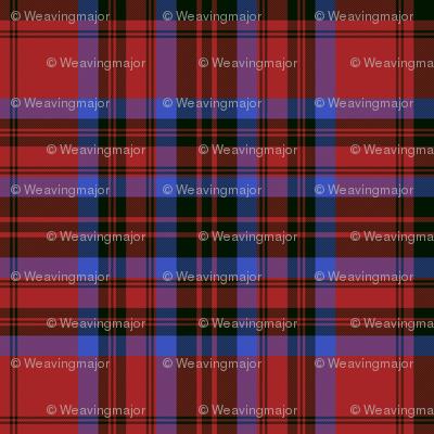 Matheson tartan - red/black/blue