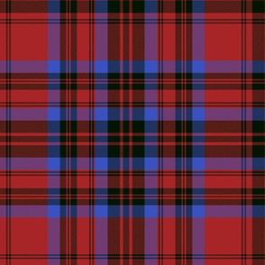 Matheson tartan - red/black/blue