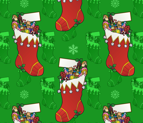 stocking fabric by hannafate on Spoonflower - custom fabric