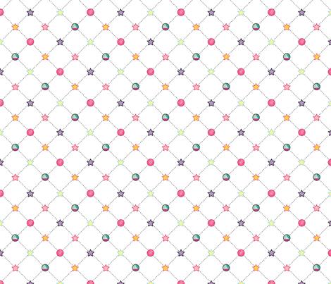 Universe Gems fabric by geekstudio on Spoonflower - custom fabric