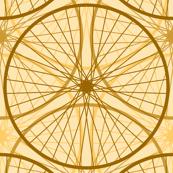 wheels : golden brown