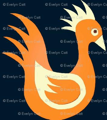 Duck Dance Orange Creme Black