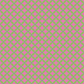 GreenandpinkFlowercircles