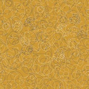 Circular Gallifreyan Yellow