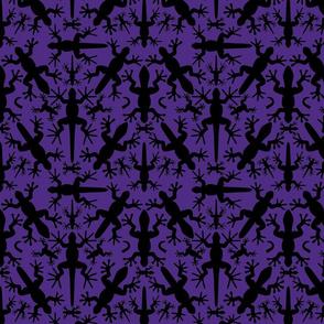 LizardGecko Twilight Silhouette Sym