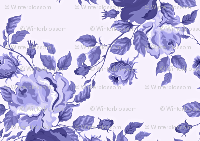 Toile Ink Floral
