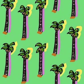 Techno #18 (2015) (Coconut Trees)