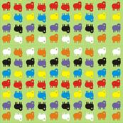 Multicoloured Sheep