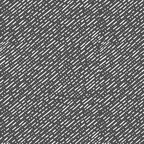 Dot Dot Dash - Charcoal