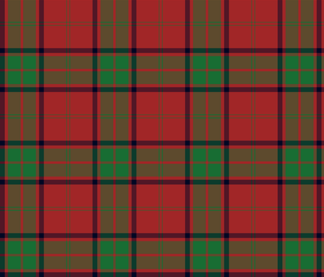 Maxwell clan tartan fabric by weavingmajor on Spoonflower - custom fabric