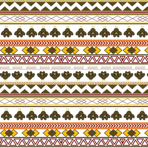 Aztec Turkey Print