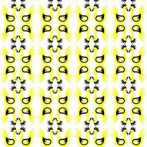 Duck Dance Yellow Black White