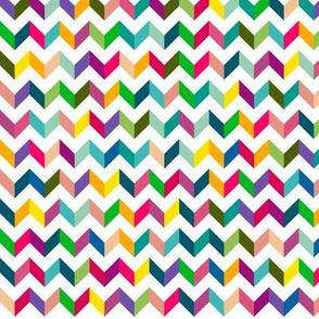 Chevron Mulit Color