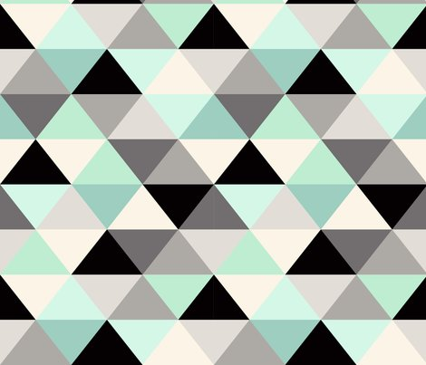 Triangle_geometric_pattern_mint_green_shop_preview