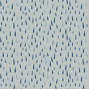 rain rain (blue and blue)