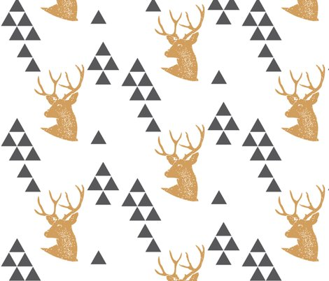 Rgeometric_deer_in_gold_shop_preview