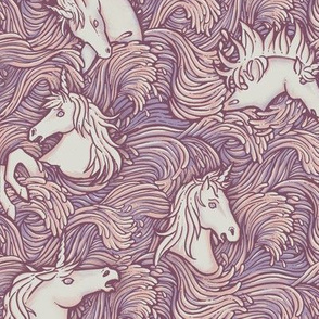Drowning Unicorns in pink