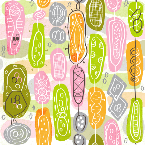 Petri fabric by skbird on Spoonflower - custom fabric
