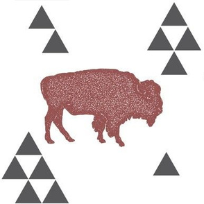 Geometric Buffalo in Wine